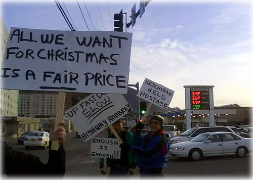 jpg Ketchikan Residents Protest High Gas Prices