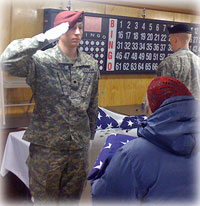 Alaska Guardsmen Recognize Veterans with Final Hono