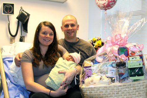 jpg S'áxt' Hít Mt. Edgecumbe Hospital welcomes 2012's first baby