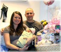 S'áxt' Hít Mt. Edgecumbe Hospital welcomes 2012's first baby