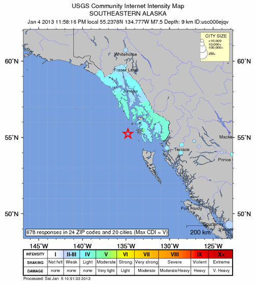 jpg 7.5-magnitude earthquake strikes off coast of Southeast Alaska