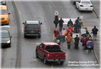 Idle No More March; One Arrested
