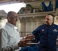 Former POW shares never say die attitude with Alaska Coast Guard