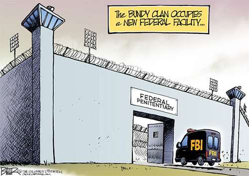 jpg Editorial Cartoon: Bundy Clan