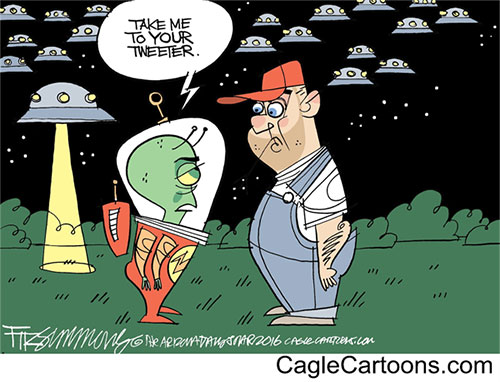 jpg Editorial Cartoon: Commander-in-Tweeter