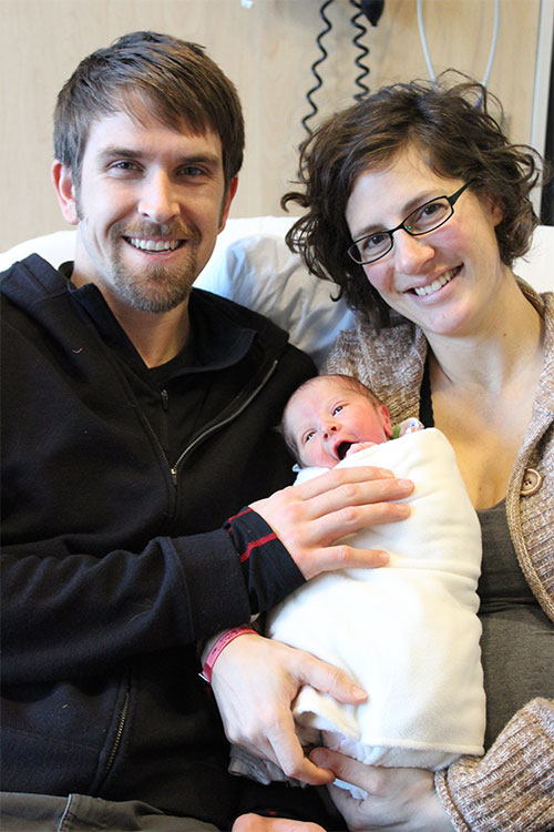 jpg Juneau Welcomes First Baby of 2017