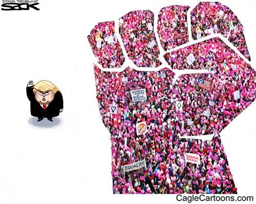 jgp Editorial Cartoon: Women Power