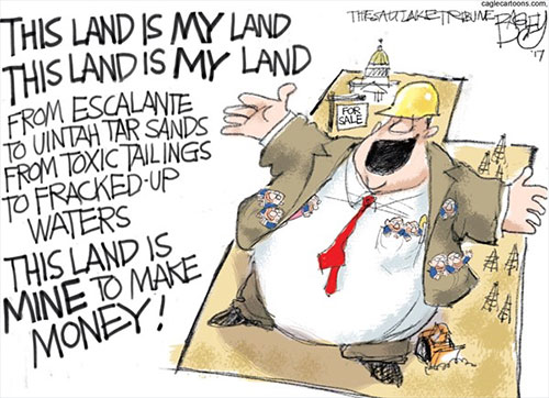 jpg Political Cartoon: Public Lands