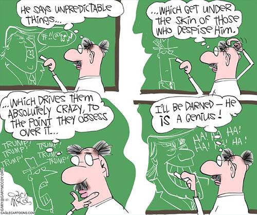 jpg Political Cartoon: Trump Genius