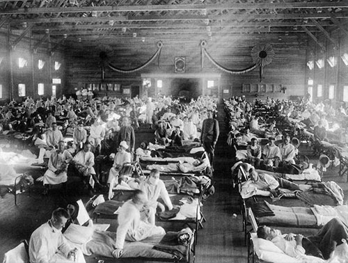 jpg The 'greatest pandemic in history' was 100 years ago - but many of us still get the basic facts wrong  By RICHARD GUNDERMAN