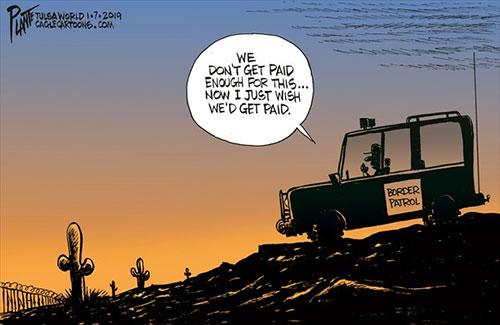 jpg Political Cartoon: The Boarder Patrol