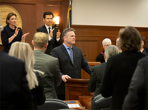 Governor Dunleavy Delivers State of State Speech