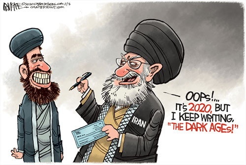 jpg Political Cartoon: Iran Dark Ages
