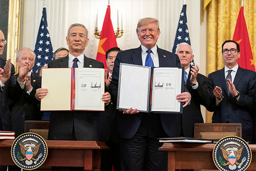 Trump Signs Landmark Phase 1 Deal with China; Positive news for Alaska Fishermen says Sullivan