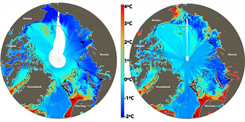 jpg Climate gas budgets highly overestimate methane discharge from Arctic Ocean