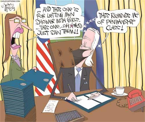 jpg Political Cartoon: Biden Executive Orders