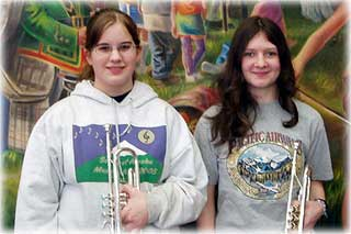 Parsons & Stone Winners of Sam Pitcher Music Scholarships