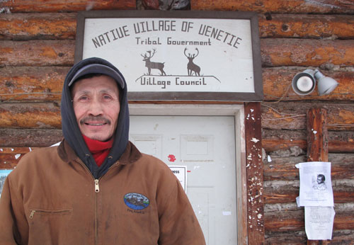 jpg Venetie resident Ernest Erick