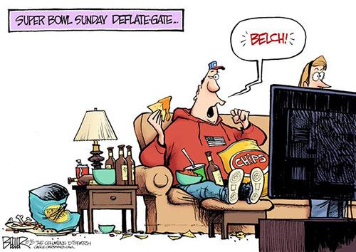 jpg Political Cartoon: Super Bowl