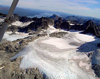 Southwestern Alaska Glaciers Rapidly Disappearing; Over a 50-year period, 50 percent of their area lost