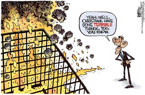 jpg Political Cartoon: Terrible Christians