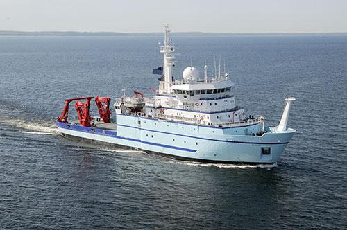 jpg Research vessel Sikuliaq arriving in Alaska; First Stop Ketchikan