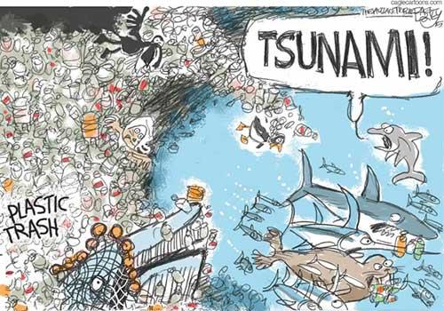 jpg Political Cartoon: Plastic in Oceans