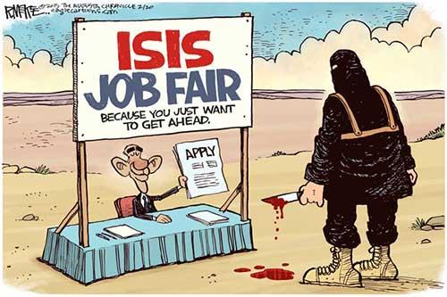 jpg Political Cartoon: ISIS Job Fair