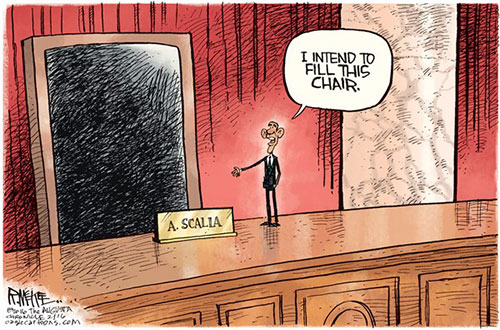 jpg Editorial Cartoon: Scalia's Chair