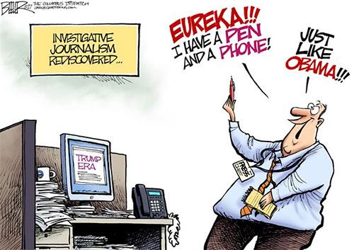 jpg Editorial Cartoon: Broken News