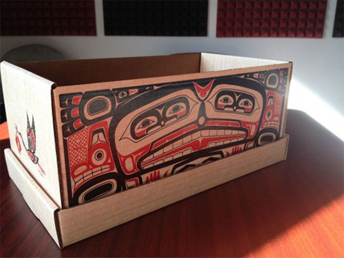 jpg A doll sized cardboard version of the baby box is available at PeaceHealth Medical Group's Women's Health for a donation of $30 to the Foundation.