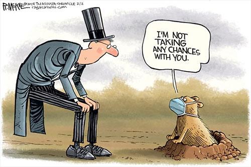jpg Political Cartoon: Groundhog Flu