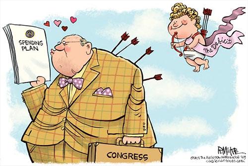 jpg Political Cartoon: Congress Valentines