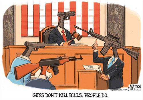 jpg Political Cartoon: Gun Congress