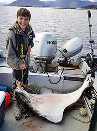 Young Halibut Hook Fisherman & Grandfather Accept Award at Innovators Hall of Fame