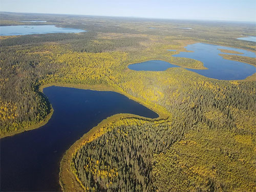 jpg Many Arctic lakes give off less carbon than expected