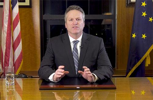 jpg Alaska Governor Michael J. Dunleavy unveils his FY2020 budget proposal