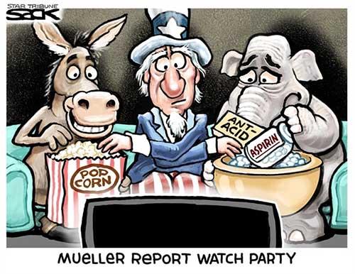 jpg Political Cartoon: Mueller Watch Party