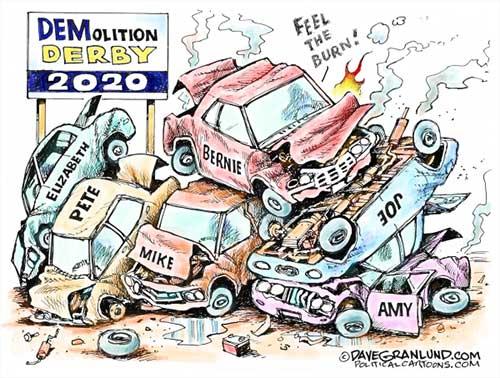 jpg Political Cartoon: Demolition derby 2020