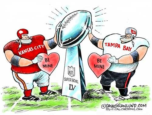 jpg Political Cartoon: Super Bowl 55 KC vs Bucs