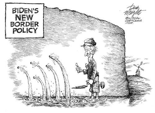 jpg Conservative Political Cartoon: Biden's New Border Policy