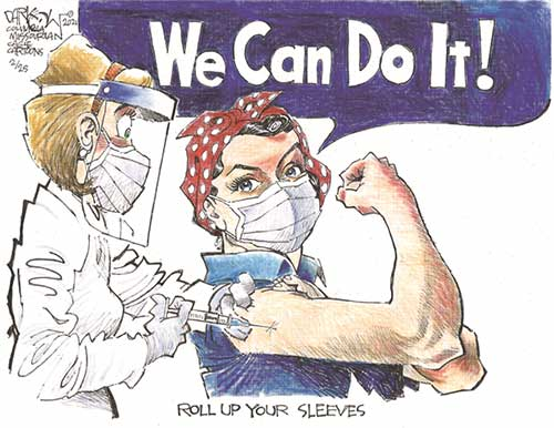 jpg Political Cartoon: Roll up your sleeves