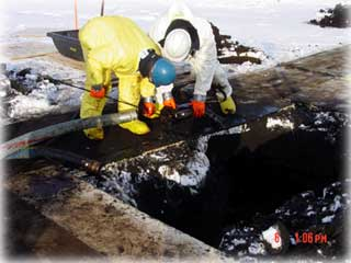Hole found in Prudhoe Bay line...
