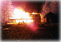 Early morning fire destroys home, dreams