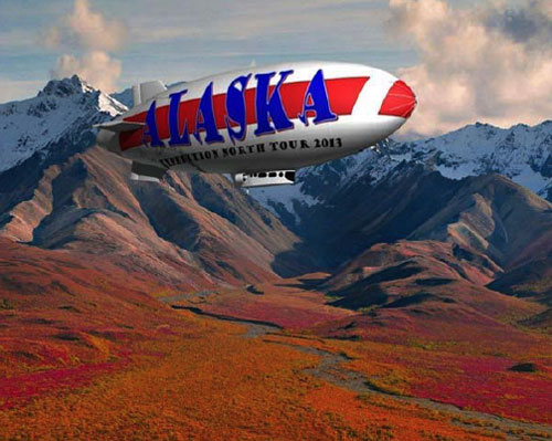 jpg 1st Airship in 90 Years Flies to Alaska This Summer