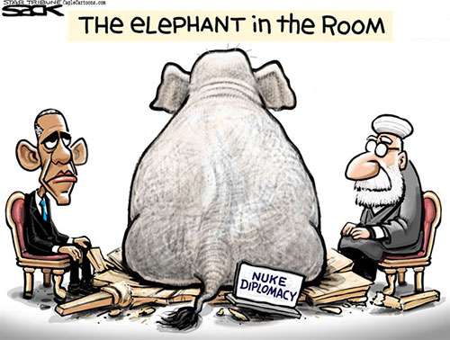 jpg POLITICAL CARTOON: GOP Diplomacy