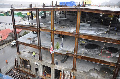 jpg Topping Out ceremony marks Ketchikan Medical Center milestone