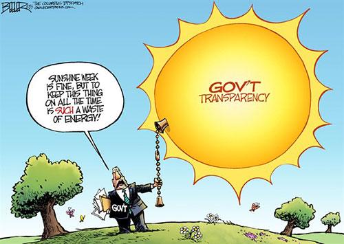 jpg Political Cartoon: Sunshine Week