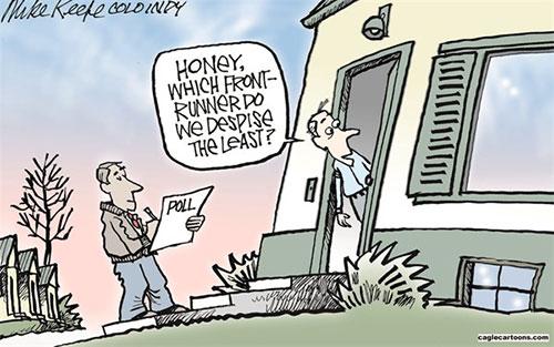 jpg Editorial Cartoon: Front-runners