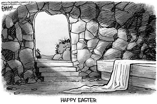 jpg Editorial Cartoon: Easter